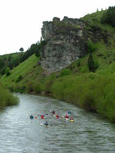 Rio Simpson Coyhaique , sur de Chile