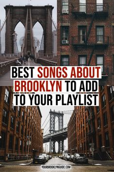 BEST SONGS ABOUT Brooklyn | Songs about New York City | New York City Songs | NYC Songs | lyrics about New York City | lyrics about NYC | NYC inspiration | NYC aesthetic | NYC vacation | lyrics about Brooklyn | Brooklyn instagram New York City inspiration | planning a trip to NYC | Jay Z songs about NYC | songs to listen to when you miss nyc | songs to listen to about NYC | NYC song lyrics | NYC song quotes | new york city lyrics | nyc quotes songs #newyorkcity #nyc #inspiration #lyrics…