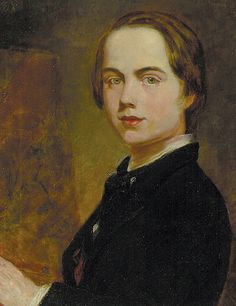 William Holman Hunt (1827 - 1910)- Self-portrait at the Age of 14.