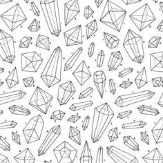 likte krystallene (Likte også måten de var plassert i forhold til hverandre. Stor kontrast i form og størrelse, men likevel skapes det en slags harmonisk helhet. Her er det også en utfordring å finne frakm til rapporten)