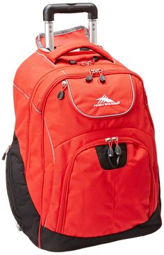 574fb24db7 Amazon.com  High Sierra Powerglide Wheeled Book Bag (21 x 14 x 9-Inch