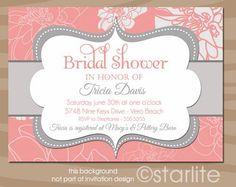 bridal shower invitations - Buscar con Google