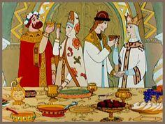 The Tale of Tsar Saltan. 1984  حكاية الملك سلطان