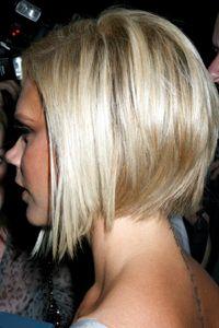 Victoria Beckham hair - love her!