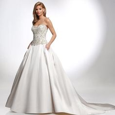 Beautifully #embroidered with such #elegance and #style this #VHC #ballgown is #stunning!!