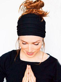 New Wide Yoga Headband for Women Hair Accessories Boho Headband Fashion Wide Running Headband 1pc