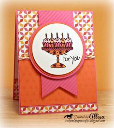 card by Allisa Chilton using CTMH Dream Pop paper