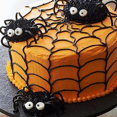 Spider Web Cake!  For more recipes check out BETTER HOMES AND GARDENS THE ULTIMATE COOKIE BOOK, 2nd EDITION (October 2014)!