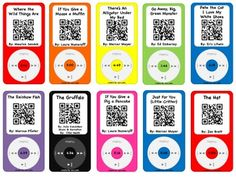Listening Center with a TWIST using QR Codes!  60 Stories for your kids to scan and watch!  This is a BUNDLE of fun!
