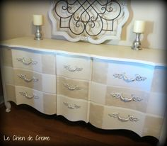 French Provincial Dresser or Sideboard.