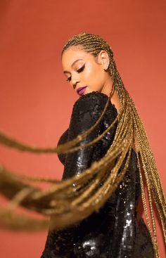 Beyonce's blonde cornrows - Modern Estilo Beyonce, Beyonce 2013, Beyonce Style, Beyonce Knowles Carter, Beyonce And Jay, Rihanna, Sexy Latex, Black Girls Hairstyles, Braided Hairstyles