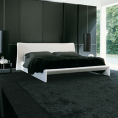 Double beds-Beds and bedroom furniture-Glove-Molteni & C
