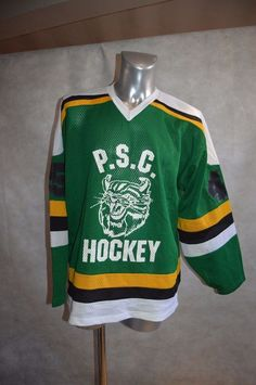 17e5885e9 MAILLOT HOCKEY SUR GLACE ALPHA P.S.C HEFRON 45 TIGERS TAILLE XL JERSEY