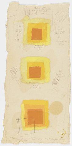 yellow josef albers