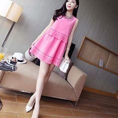 Maternità coreano Charming Dress Pure – EUR € 22.79
