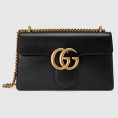 Gucci Women - GG Marmont leather shoulder bag - 431777CDZ0T1000