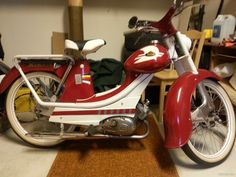 For sale Monark Moped Scooter, Vespa, Classic Motors, Motorbikes, Bicycle, Mens Fashion, Retro, Scooters, Vehicles