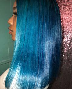 Blue hair  Pinterest: lifeasivana