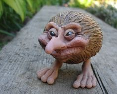 This guy is a total dude, he collects junk and incorporates it with polymer clay to create mystical critters.  Well worth a browse through his site, highly entertaining background stories for all the critters!