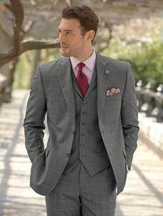 100% Wool Two-Button Notch Lapel Suit Separate   Paul Fredrick