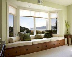 baywindowcushions | 30 Bay Window Decorating Ideas Blending Functionality with Modern ...
