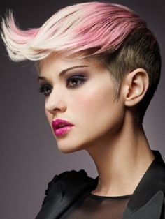 How can this harsh hairstyle look quite so stunning? #platinum #beautifulhair