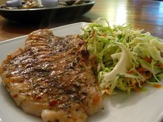 Jerk Grouper with Spicy Cilantro Slaw