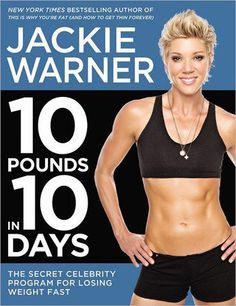 '10 Pounds in 10 Days' by Jackie Warner.