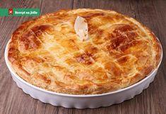 Learn how to prepare Kyustendil Leek Pie (Zelnik). Quiches, Lamb Pie, Mushroom Pie, Strudel, How To Cook Chicken, Pie Dish, Pie Recipes, Drink Recipes, Easy Recipes