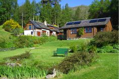 Morenish Mews 4 star self-catering accommodation for your holiday in Perthshire the Highlands of Scotland Accommodation comprises a timber cottage (2 apartments) and the 170-year old Coach House apartment, set in 4 acres of tranquil, secluded grounds that are a haven for wildlife.