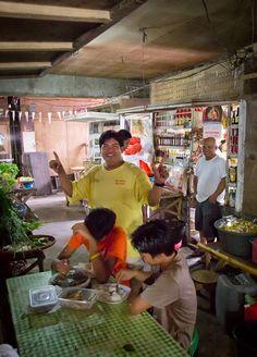 Hilongos market, Leyte, the Philippines