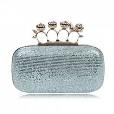$16.79 Party Women's Evening Bag With Rhinestone and Sparkling Glitter Design