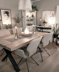 Home Beauty Stunning Dining Room Inspo – The Marble Home Sauna Room Packages Make Construction Easy Blinds For You, Sauna Room, Linoleum Flooring, Murphy Bed, Diy Garden Decor, Dining Room Design, Living Room Decor, Dining Table, Home