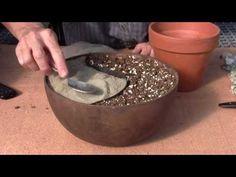 Como fazer um pátio em miniatura - YouTube