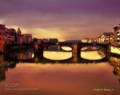 Ponte Santa Trinita in Florence by charleswbaileyjr. @go4fotos