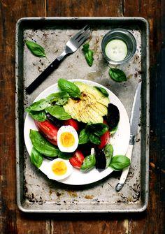 Avocado & Beet Caprese Salad via YummyBeet.com