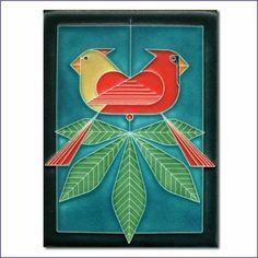 Charley Harper Ford Times Motawi Tile