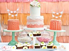 This creative Mexican wedding inspiration shoot used softer colours to feature ideas to use for a softer Mexican themed wedding palette Wedding Sweets, Wedding Cakes, Wedding Trends, Wedding Styles, Vintage Mexican Wedding, Our Wedding, Dream Wedding, Wedding Unique, Wedding Shoot