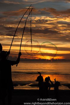 #beachSunset #beach #bubblemaker #soapbubbles #travel