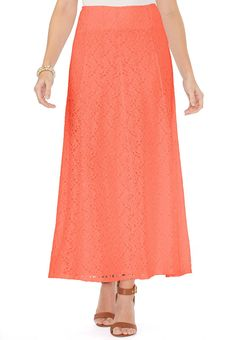 4efcd6f2f4c Allover Lace Maxi Skirt Skirts Cato Fashions Womens Maxi Skirts, Lace Maxi,  Easter 2015