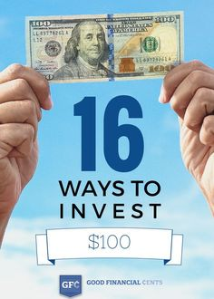 16 Ways to Invest $100 .... Jeff has SO many really smart ideas....a lot is common sense, but some is financial investing in laymen's terms...something I've been looking for forever...he's really a down to earth guy with wonderful suggestions on making your money grow.. How to Invest investing basics, how to invest #personalfinance
