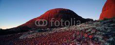 Australia Landscape : Red rock of Alice Spring, Yulara, Mutitjulu - 129459088
