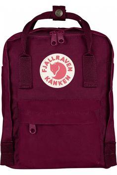Fjallraven Kanken Mini Backpack Plum - Fjallraven Kanken #kanken #backpack #backtoschool