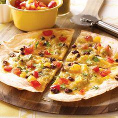 Tex Mex Pizza #recipe