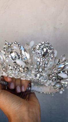 Bridal Crown, Bridal Tiara, Headpiece Wedding, Headpiece Jewelry, Hair Jewelry, Wedding Tiaras, Wedding Crowns, Tiaras And Crowns, Royal Crowns