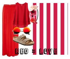"""""""red #2"""" by lallushka on Polyvore"""