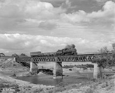 Cape Town-Kraaifontein-Malmesbury-Bitterfontein by C P Lewis © - Soul of A Railway