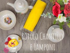 Rotolo ai Lamponi e Chantilly
