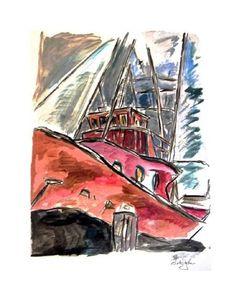 www.canvasgallery.com Bob  Dylan Dry Dock