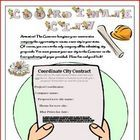 Coordinates City: Creative Math Project Activity. Your students will love to create their own city based on coordinates! $